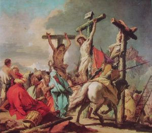 007 - Gian Battista Tiepolo - la crocifissione