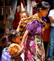 Mamma e figli, Guatemala