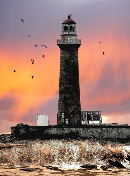 Little Gull Island Lighthouse For Sale