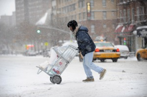 Neve a New York 2012