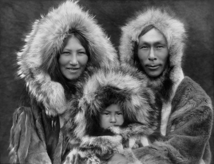 Inupiat Family from Noatak, Alaska, 1929, Edward S. Curtis