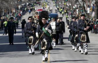 Usa, la parata di St. Patrick's Day