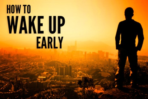 how-to-wake-up-early