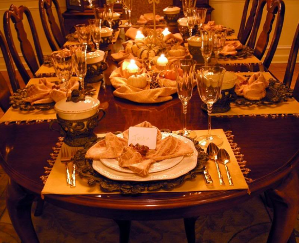 Thanksgiving Dinner Table Decorations decorating ideas for thanksgiving - pueblosinfronteras