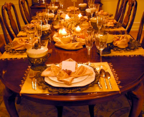 Thanksgiving table decorations « kathy kiefer
