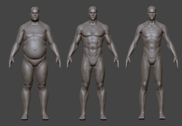 3D_Male body typeline up front_c