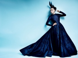 vintage-Valentino-Haute-Couture-Keira-Knightley-in-Vogue-October-2012-saved-by-Chic-n-Cheap-Living