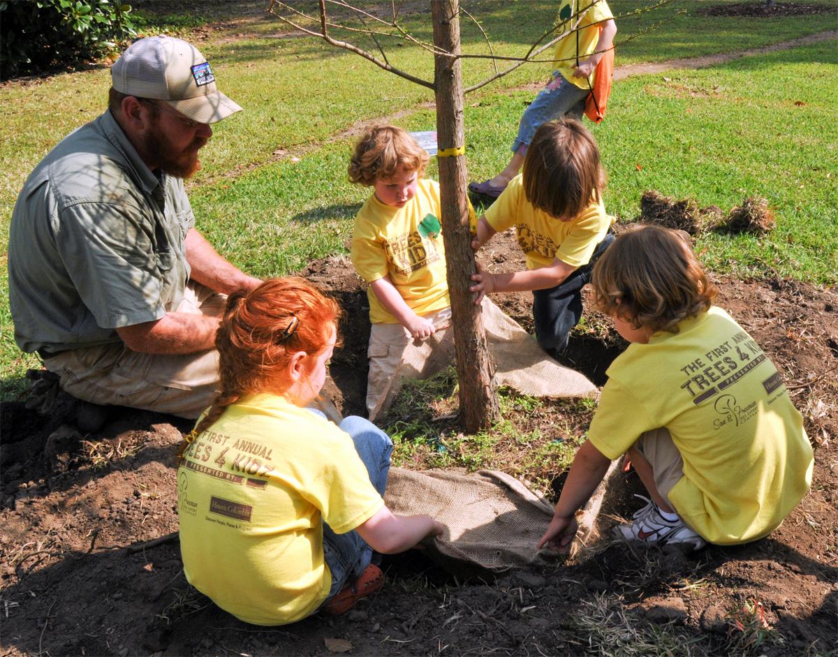 Arbor Day - Grant Wood - WikiArt.org - encyclopedia of visual arts