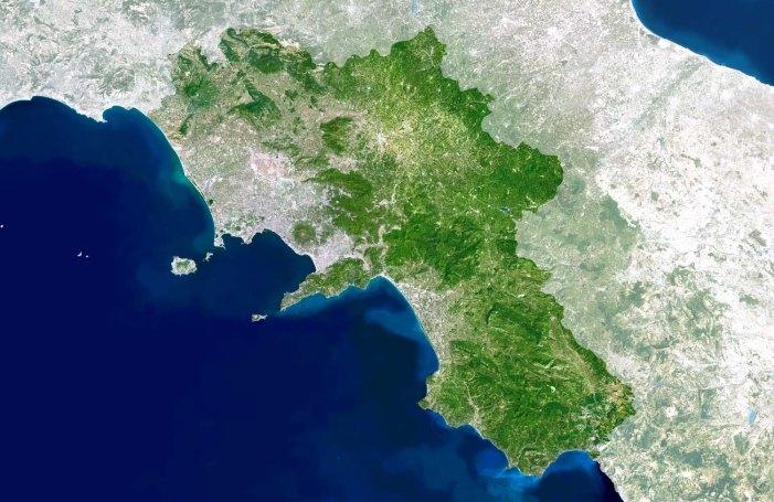 Regione_Campania_dal_satellite